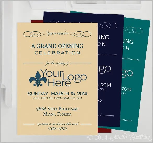 free corporate invitation templates - Maggilocustdesign - business invitation templates