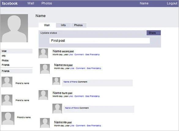 49+ Facebook Templates - DOC, PDF, PSD, PPT Free  Premium Templates