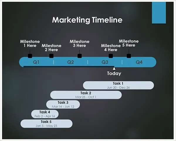 7+ Marketing Timeline Templates \u2013 Free Sample, Example, Format