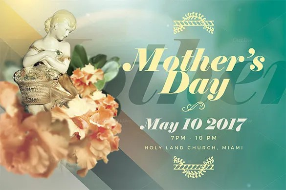 16+ Beautiful Mother\u0027s Day Flyer Templates  Designs! Free