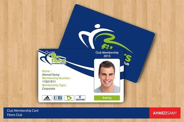 35+ Membership Card Designs  Templates Free  Premium Templates