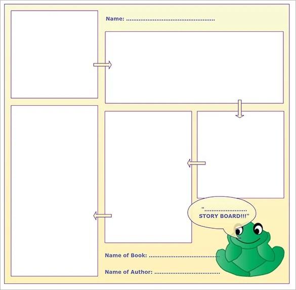Kids StoryBoard Templates \u2013 8+ Free Word, Excel, PDF, PPT Format