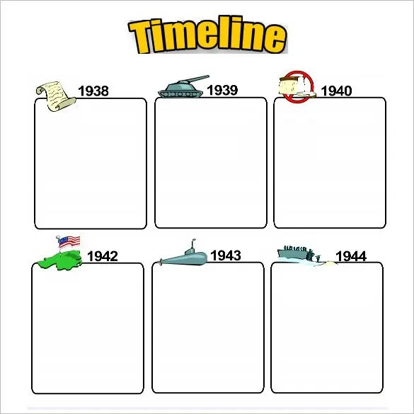 Sample Timeline For Students - Resume Template Sample - Sample Biography Timeline