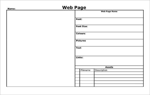 word web page templates - Onwebioinnovate