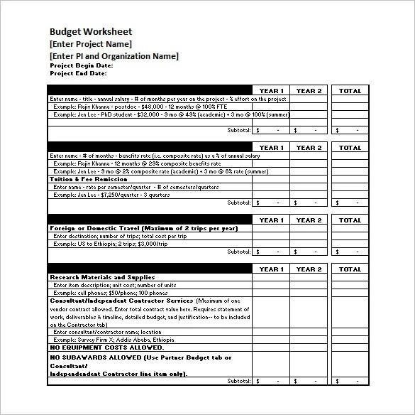 8+ Budget Timeline Templates -DOC, PDF, Excel Free  Premium Templates