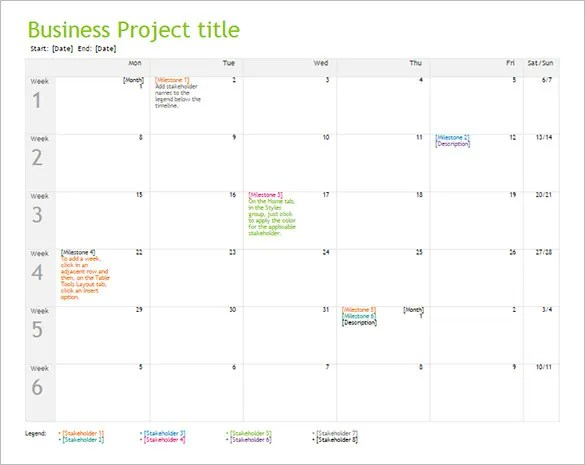 11+ Business Timeline Templates- Free Word, PPT, PDF Format Download - timeline word template