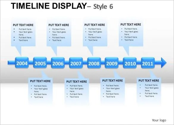 11+ Business Timeline Templates- Free Word, PPT, PDF Format Download