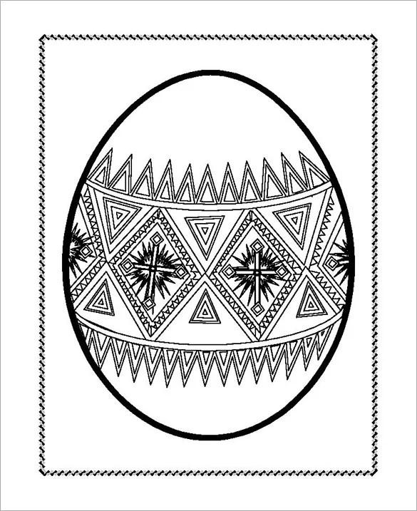 38+ Easter Egg Templates Free  Premium Templates