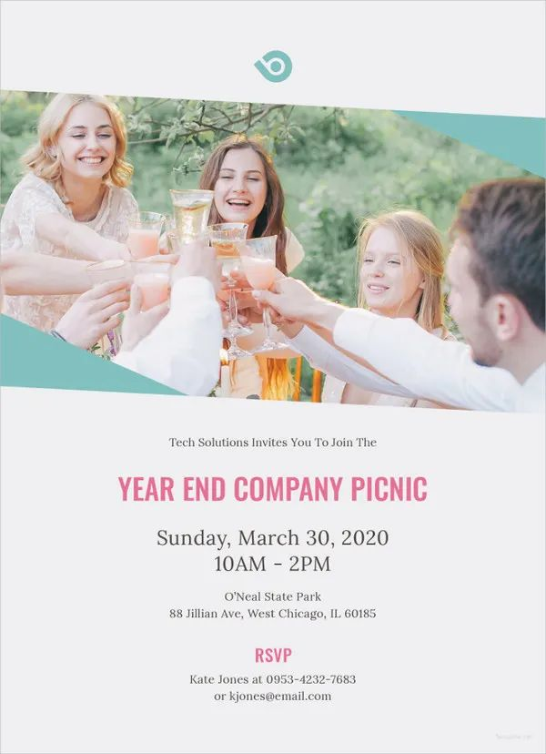 company picnic invitation