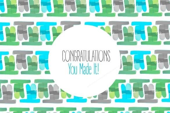 11+ Congratulations Card Templates - PDF, PSD, EPS Free  Premium