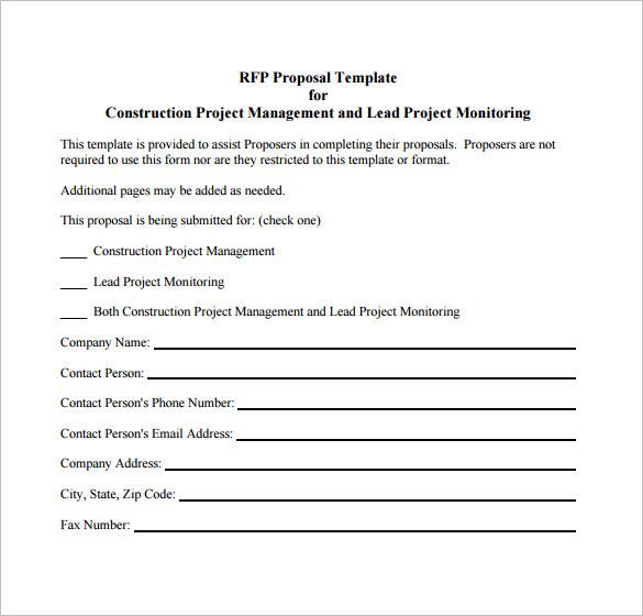 46+ Project Proposal Templates - DOC, PDF Free  Premium Templates - construction project proposal