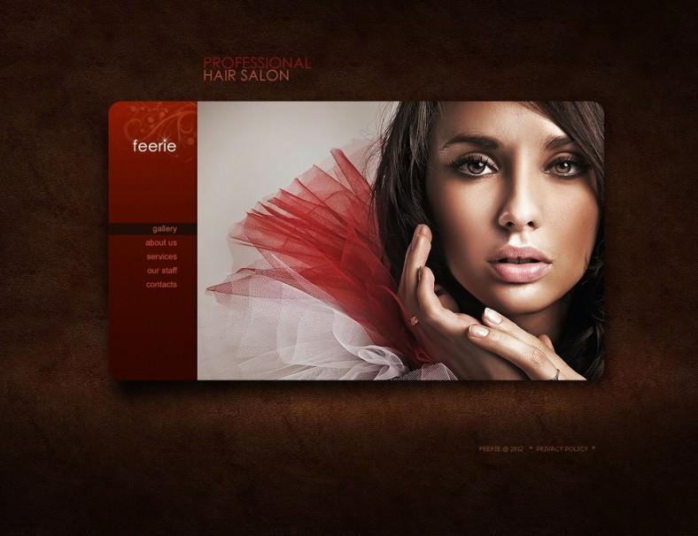 10 Best Hair Salon HTML5 Templates  ThemesFree  Premium Free