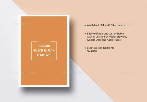 Daycare Business Plan Template - 12+ Free Word, Excel, PDF Format