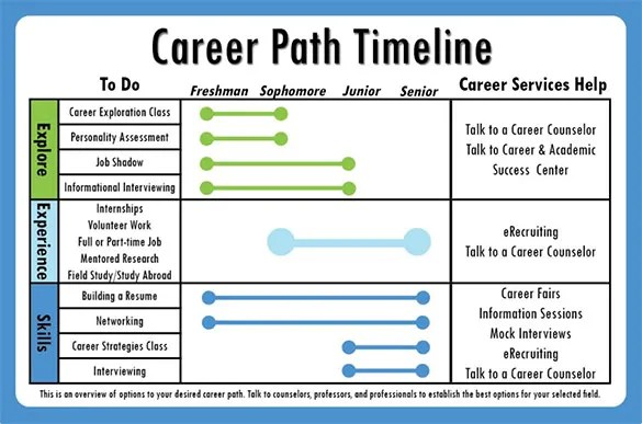 10+ Career Timeline Templates u2013 Free PSD, PDF Format Download - career progression plan template