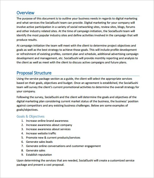 Example of a market research proposal project purple Example - proposal for a project