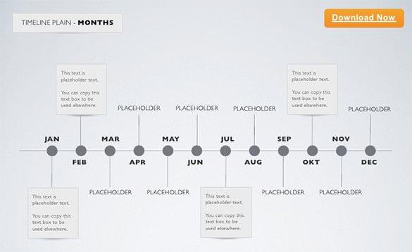 12+ Keynote Timeline Templates u2013 Free Sample, Example, Format - simple timeline template