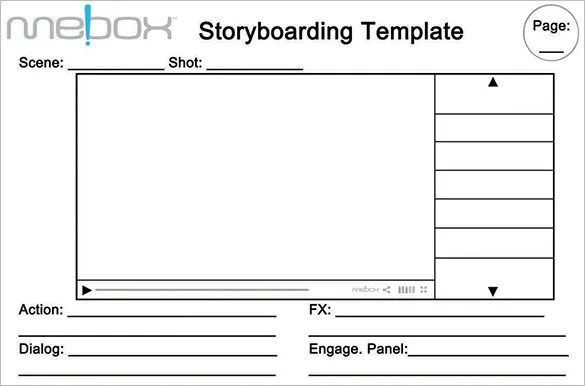 Website Storyboard Templates \u2013 9+ Free Word, Excel, PDF, PPT Format