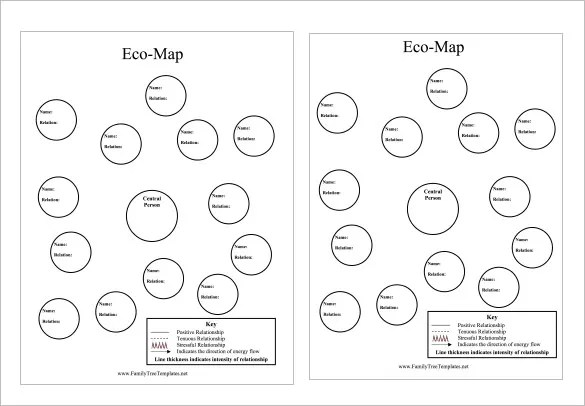 Ecomap Template - 17+ Free Word, PDF Documents Download Free - ecomap template