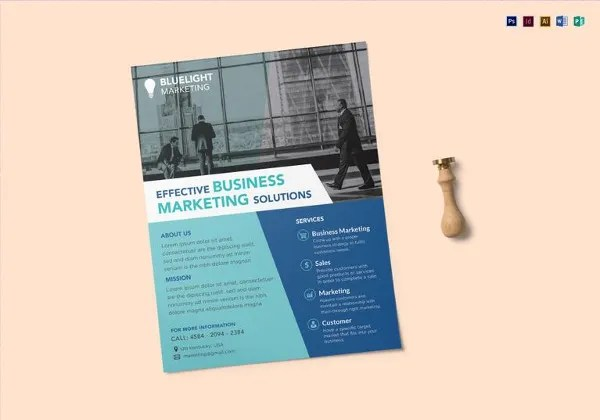 36+ Sample Marketing Flyer Templates - PSD, Publisher, Illustrator