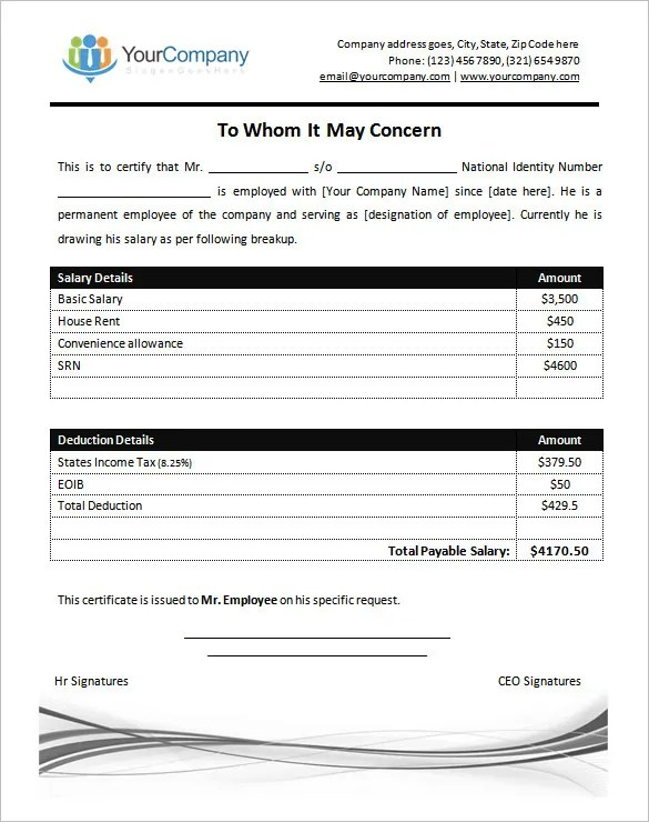 simple salary slip format for small organisation free download - employee salary slip format pdf