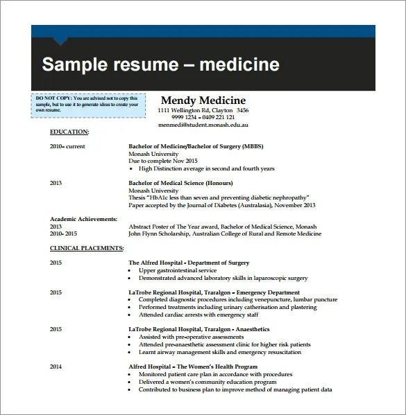 combination resume samples free
