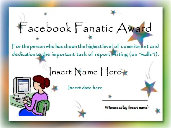 11+ Funny Certificate Templates - Free Word, PDF Documents Download