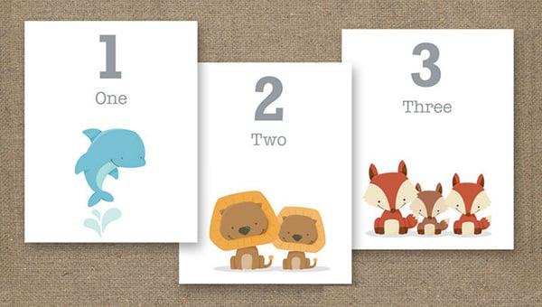 10+ Flash Card Templates - DOC, PDF, PSD, EPS Free  Premium Templates