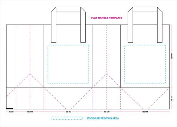 18+ Awsome Paper Bag Templates  PSD Mockups! Free  Premium Templates - printing paper template