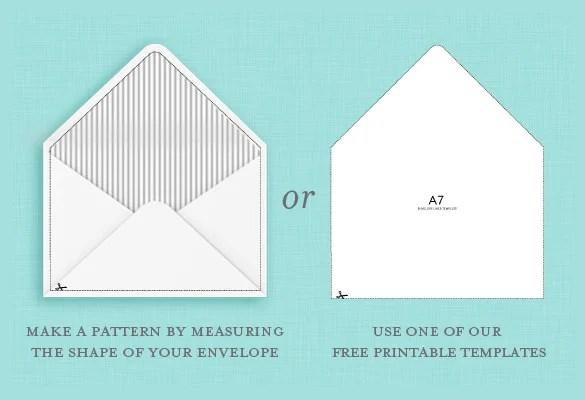 9 A7 Envelope Templates Doc Psd Pdf Free Premium