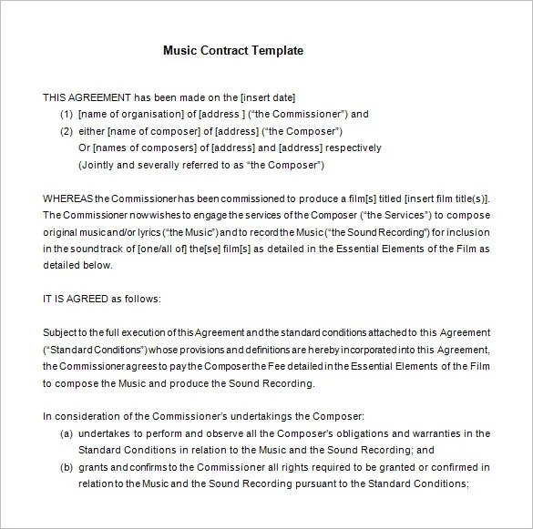 Sample Contract Agreement For Investors – Investors Agreement Template
