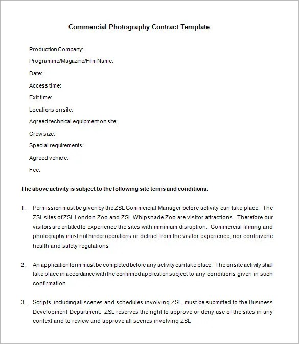 Basic Contract Template Project Agreement Template Project Contract
