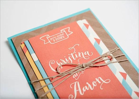 18+ Wedding Card Envelope Templates -DOC, PDF, PSD Free  Premium