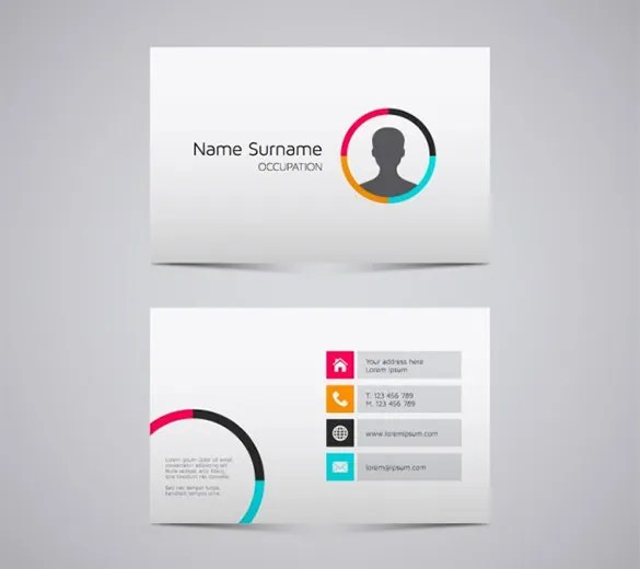 Name Card Templates \u2013 18+ Free Printable Word, PDF, PSD, EPS Format - Buisness Card Template