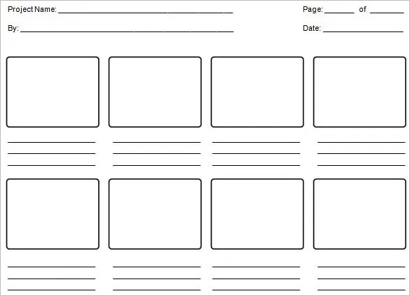 Education Storyboard Template \u2013 6+ Free Word, PDF, Format Download - storyboard template pdf