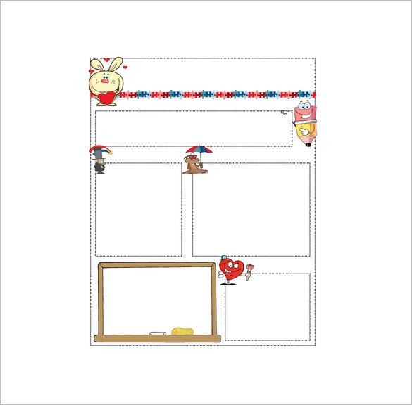 13+ Printable Preschool Newsletter Templates u2013 Free Word, PDF - microsoft word newsletter templates free download