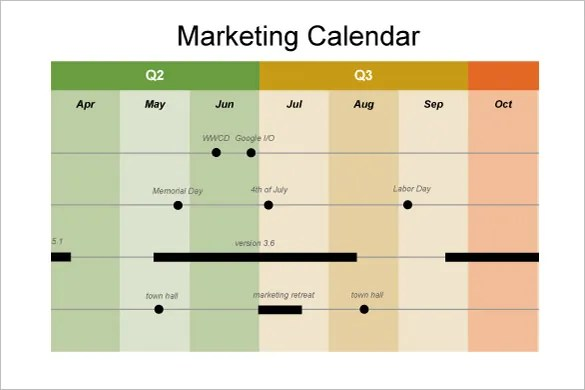 10+ Calendar Timeline Templates \u2013 Free Word, PPT Format Download