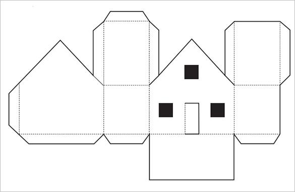 11+ Paper House Templates - PDF, DOC Free  Premium Templates