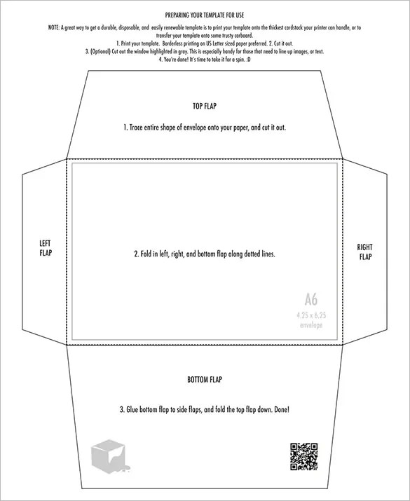 4×6 Envelope Templates u2013 9+ Free Printable Word, PDF, PSD, EPS - 4x6 envelope template