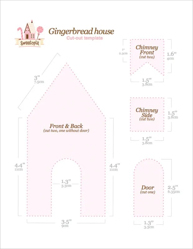 11+ Gingerbread House Templates \u2013 Free PDF Document Formats Download