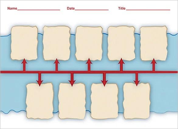 6+ Timeline Templates For Students - DOC, PDF Free  Premium Templates