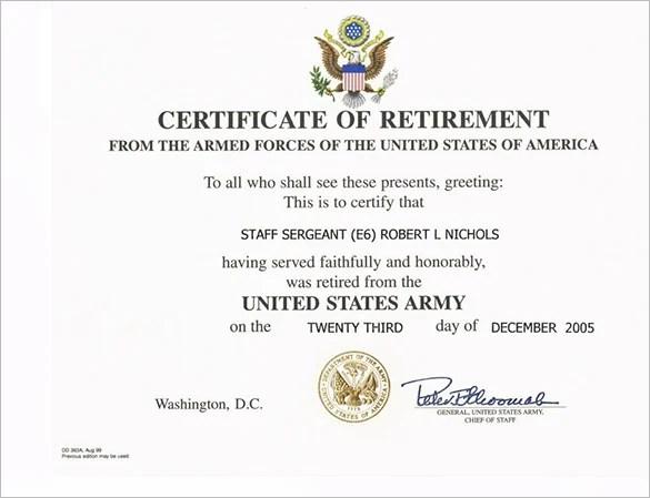 Army Certificate Of Achievement Template Node2003 Cvresume
