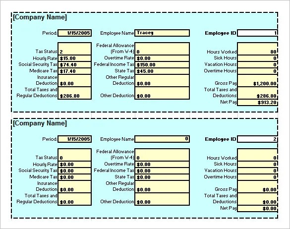 8+ Salary Paycheck Calculator -DOC, Excel, PDF Free  Premium