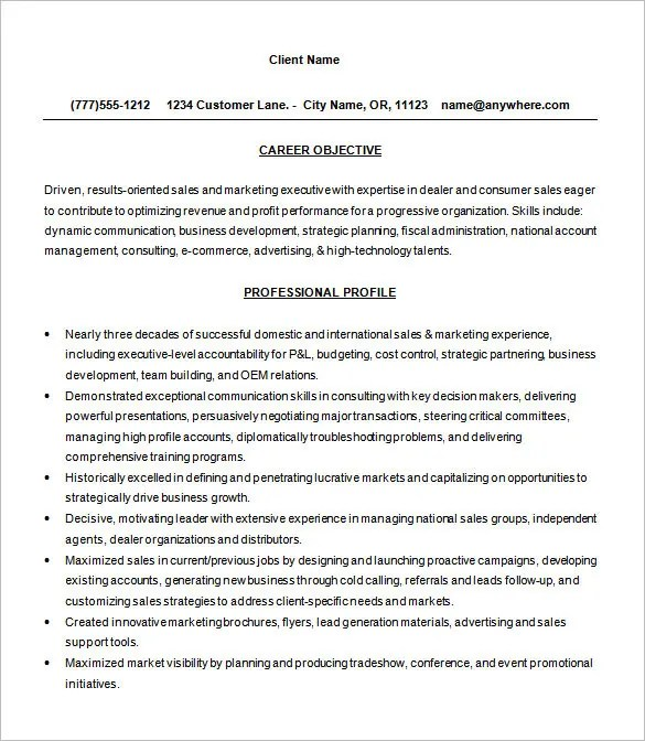 GUIDELINES FOR GRADUATE THESIS Business and Management sales - pre sales consultant resume