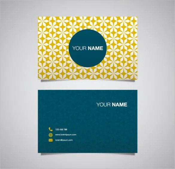 name card template free - Onwebioinnovate - template for name cards