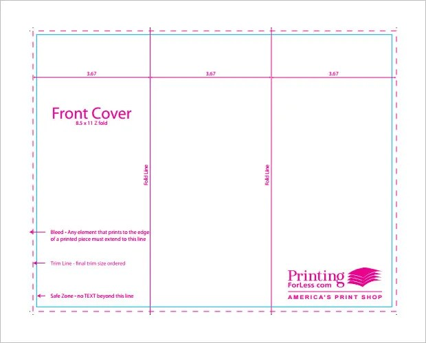 10+ Printable TriFold Templates - DOC, PSD, PDF, EPS, InDesign