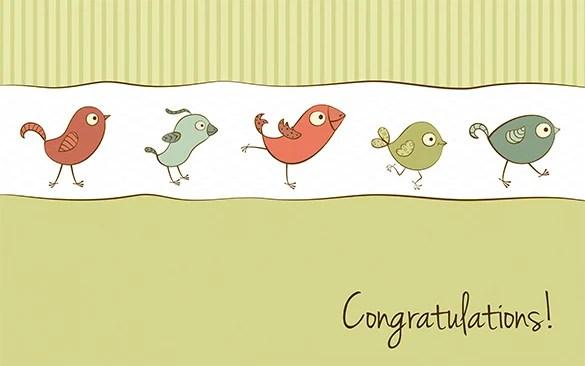 congrats card template the-links