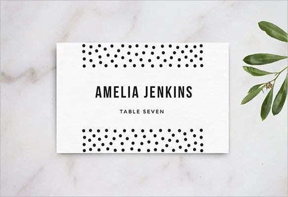 Name Card Templates \u2013 18+ Free Printable Word, PDF, PSD, EPS Format - name card format
