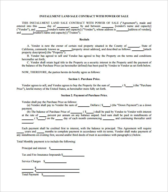Sales Contract Template - 15+ Free Word, PDF Documents Download - Car Sales Contracts