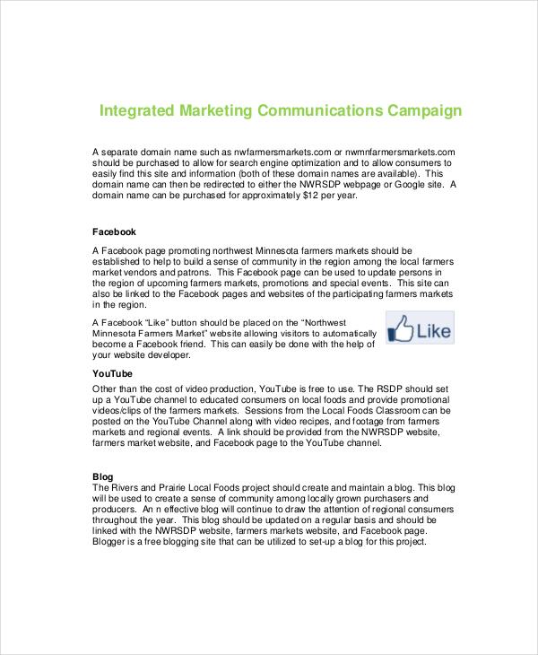7+ Marketing Campaign Templates - Free Sample, Example Format - sample marketing campaign
