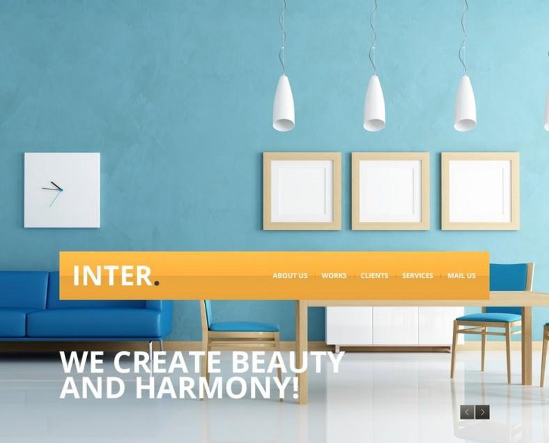 23+ Interior Design Website Themes  Templates Free  Premium